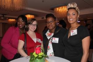 Rosalie Award Cocktail Reception Attendees, 2014