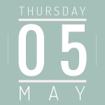 Thursday May 5