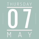 Thursday May 7th